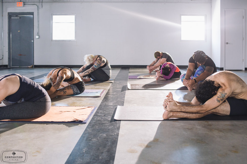Gaze Hot Yoga Class 4