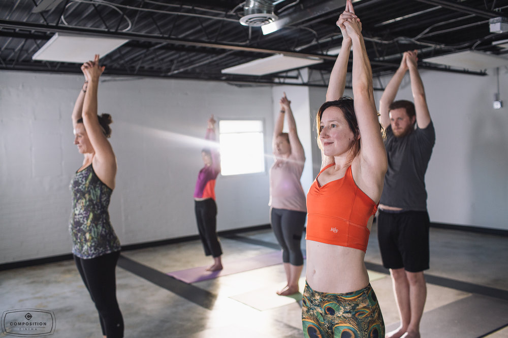 Gaze Hot Yoga Class 7