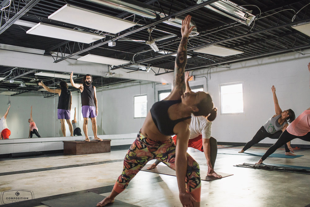 Gaze Hot Yoga Class 9