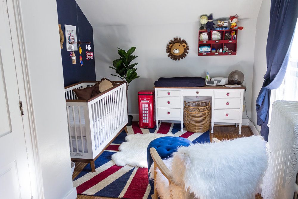 British Themed Nursery