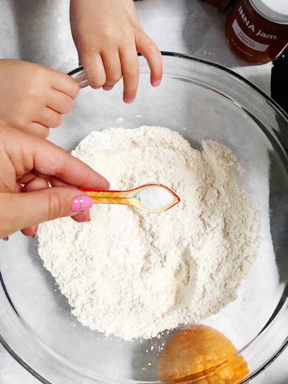 + 1/2 tsp of kosher salt