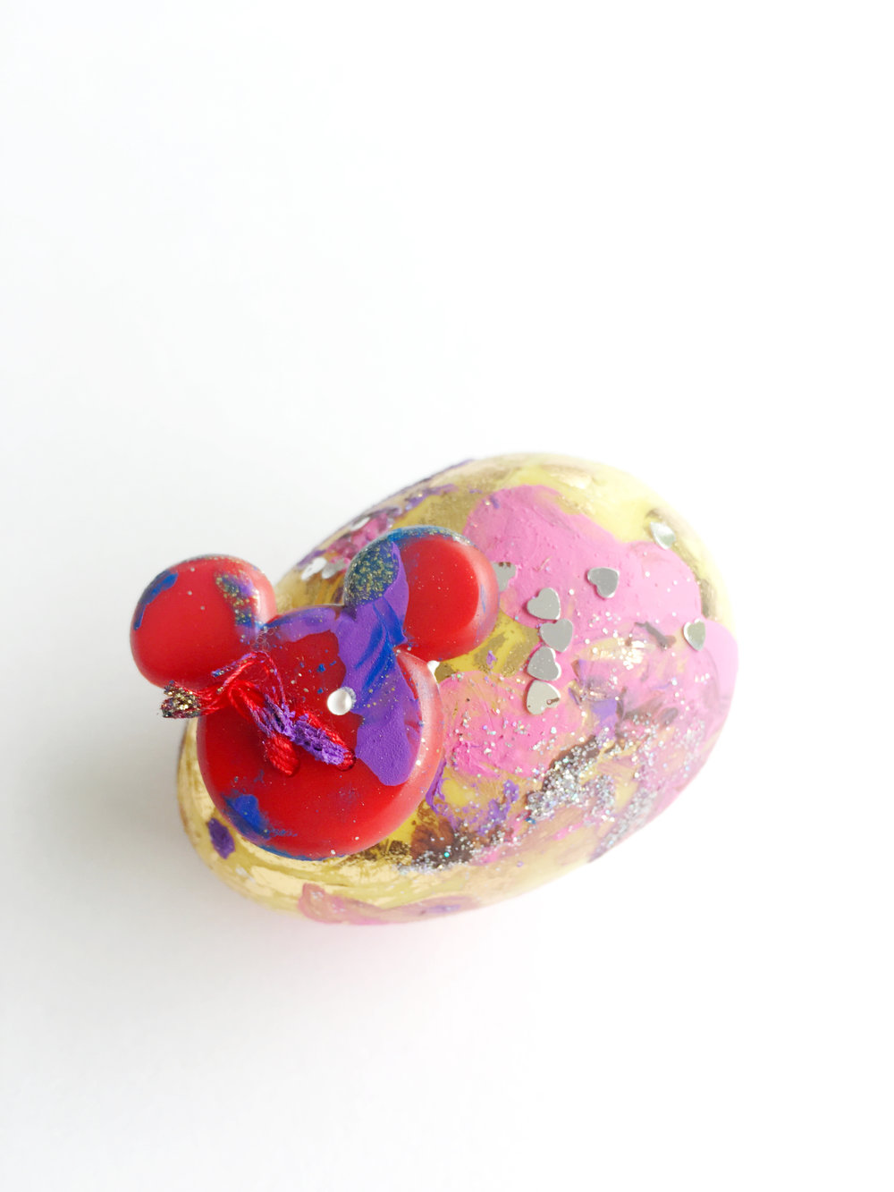 Mixed Media Egg by Dean.