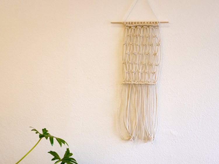 Macrame Wall Hanging - January 23, 7-10 PM $65