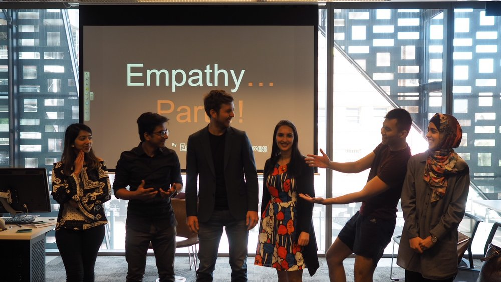 Empathy Experiences empathy training workshop Sydney Australia Asia
