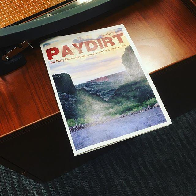 Monday, Monday , Monday..... #paydirt #nmt