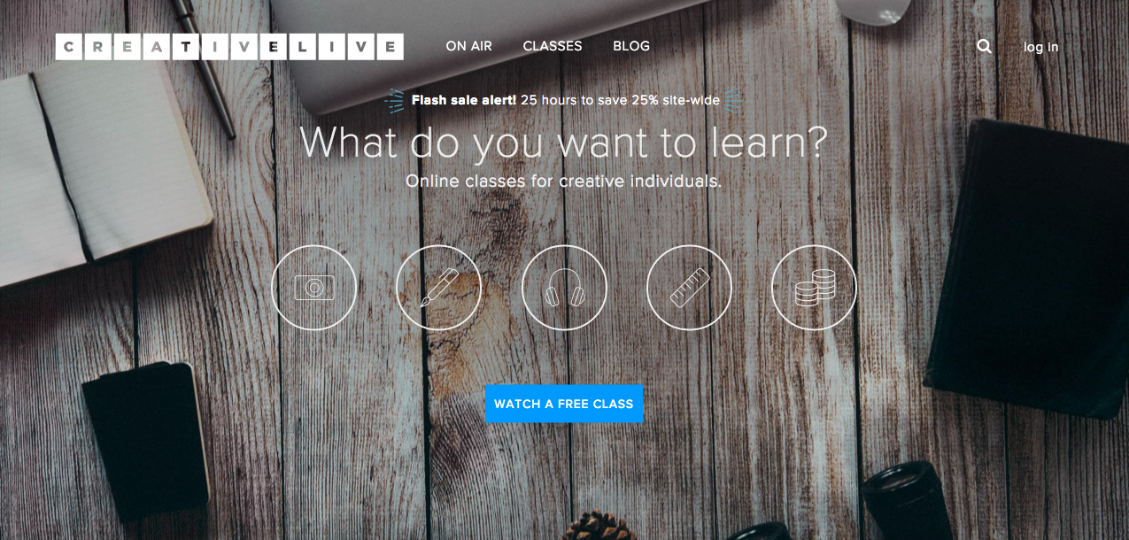 Top 5 Free Resources for Creative Education: CreativeLive