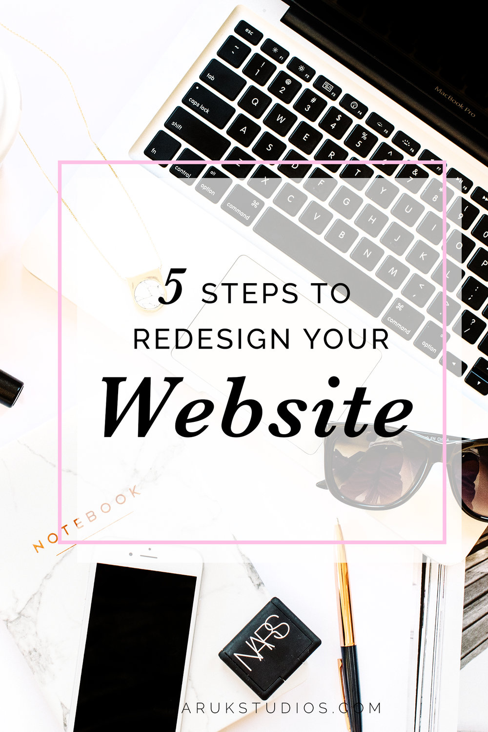 5 Steps to Redesign Your Website by Charuk Studios