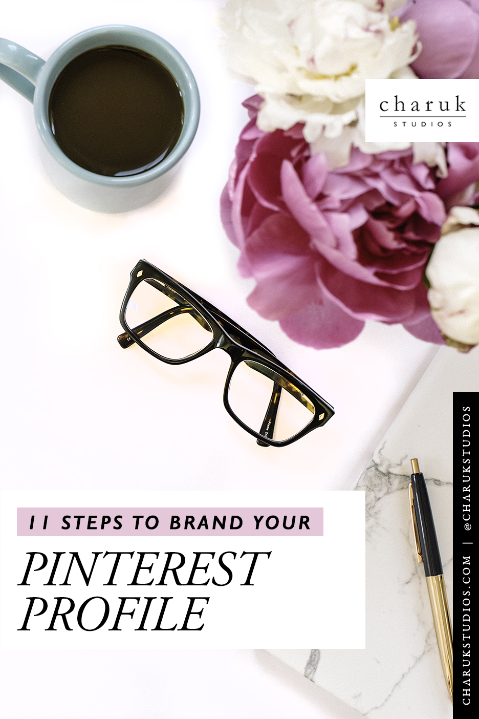 11 Steps to brand your Pinterest profile by Charuk Studios
