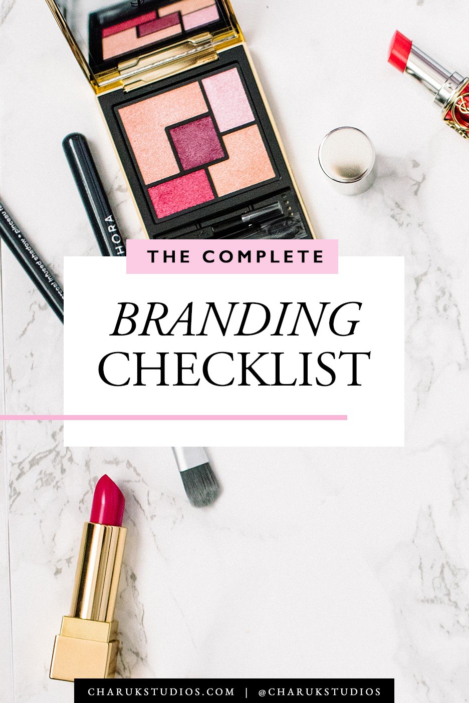 The complete branding checklist by Charuk Studios