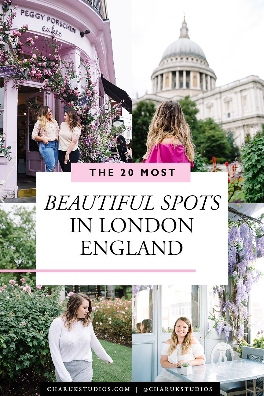 20 Most Beautiful Spots in London England by Charuk Studios