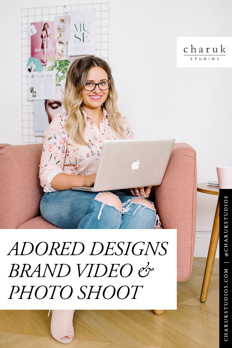 Adored Designs Brand Video and Photo Shoot by Charuk Studios