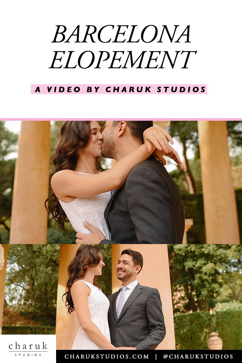 Barcelona Elopement Video by Charuk Studios