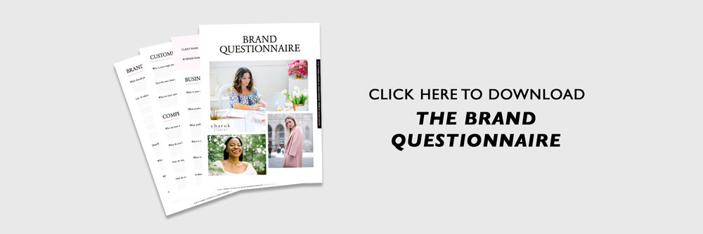 Download the Brand Questionnaire