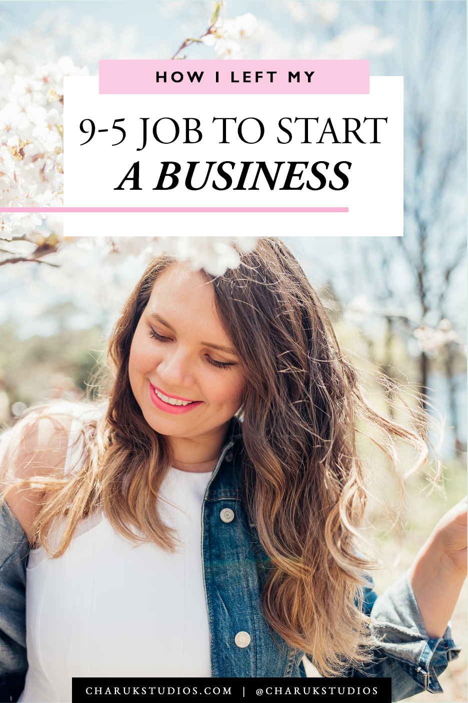 How I Left My 9-5 Job to Start a Business by Charuk Studios