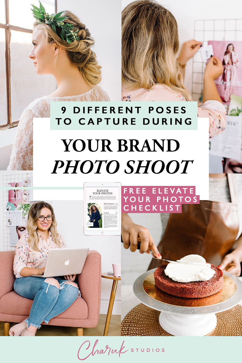 9 Different Poses to Capture During Your Brand Photo Shoot by Charuk Studios