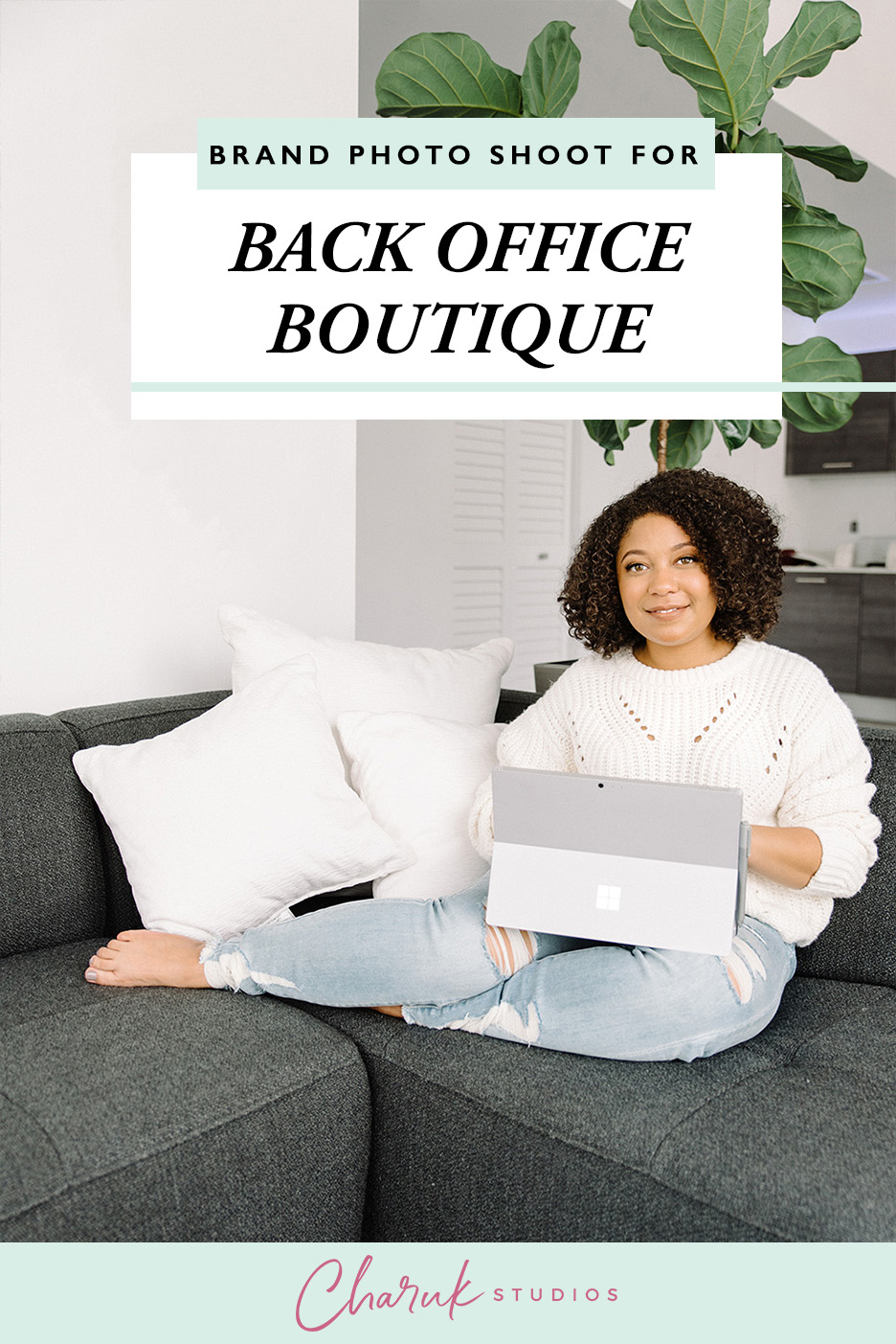 Brand Photo Shoot for Back Office Boutique by Charuk Studios