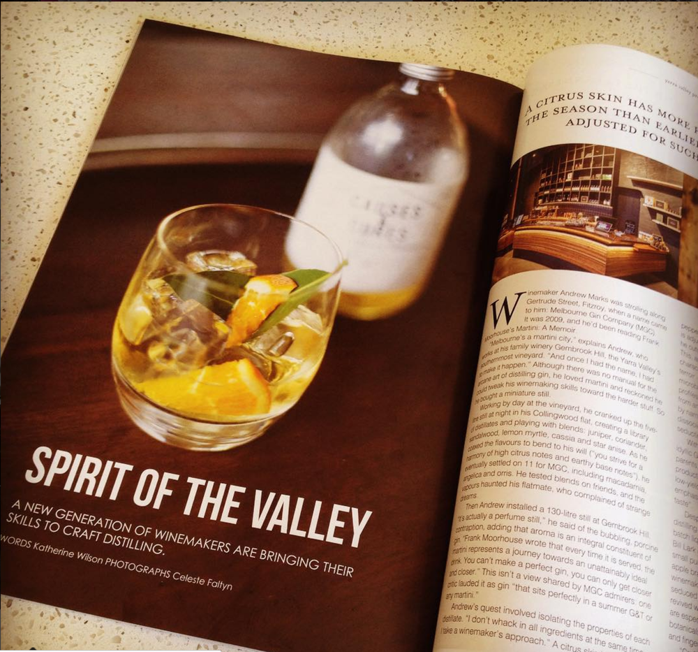 FEATURE WRITTEN FOR YARRA VALLEY MAGAZINE, 2016.