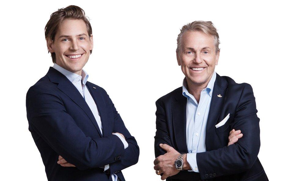 Carl-Johan Erlandsson, vVD Tomas Erlandsson, VD