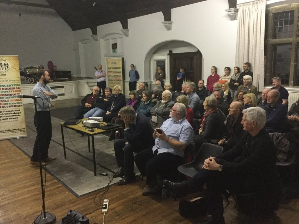 Talks on Donegal Fiddling and the Doherty Family