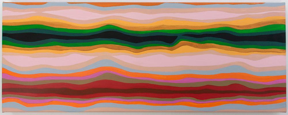 Acrylic on canvas, 30 x 80 cm. 2012