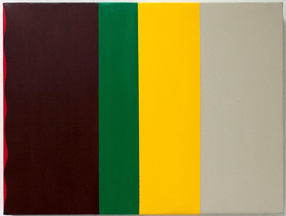 Striber på tværs, 50 x 30 cm. 2008