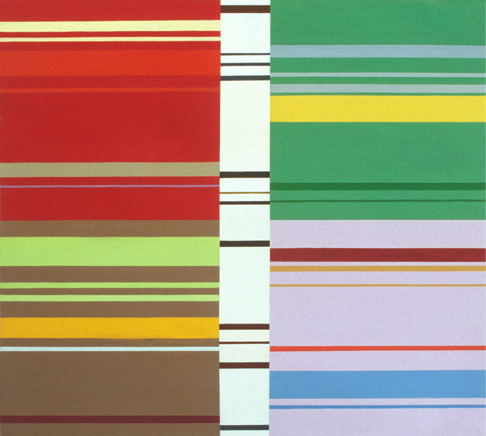 No title. Oil tempera on aluminum sheet, 107 x 118 cm, 2001