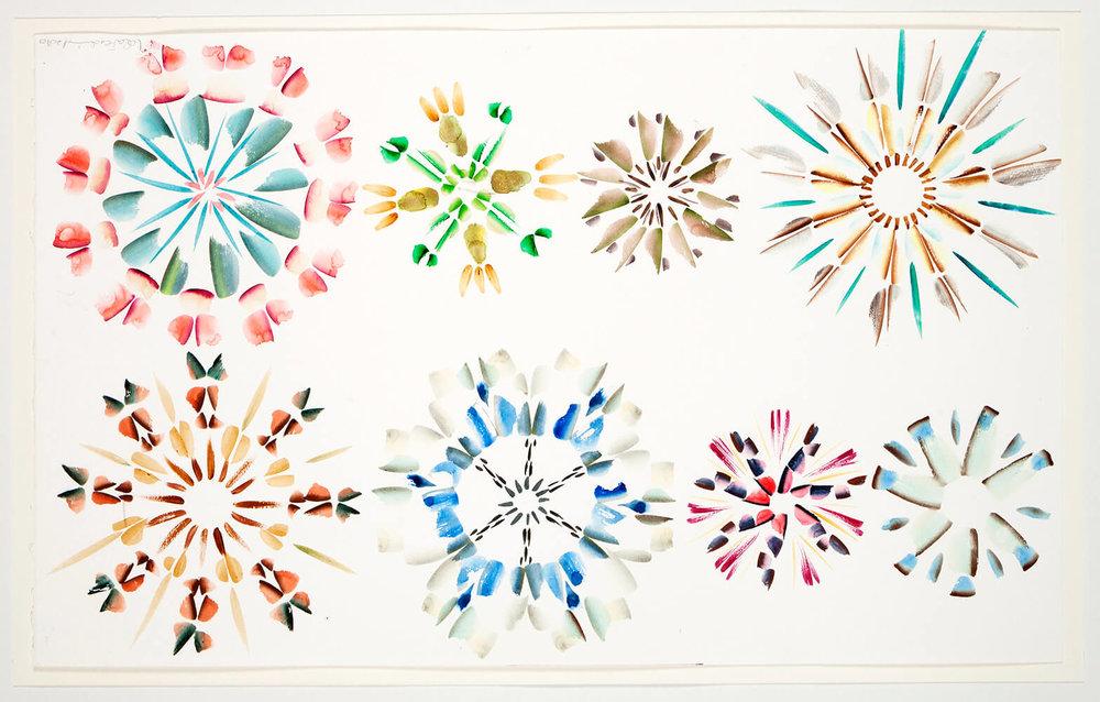 Crystals A-Z, 65 x 40 cm. 2010