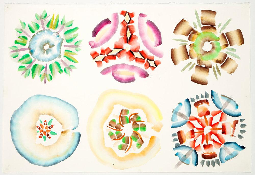Crystals A-Z, 65 x 50 cm. 2010