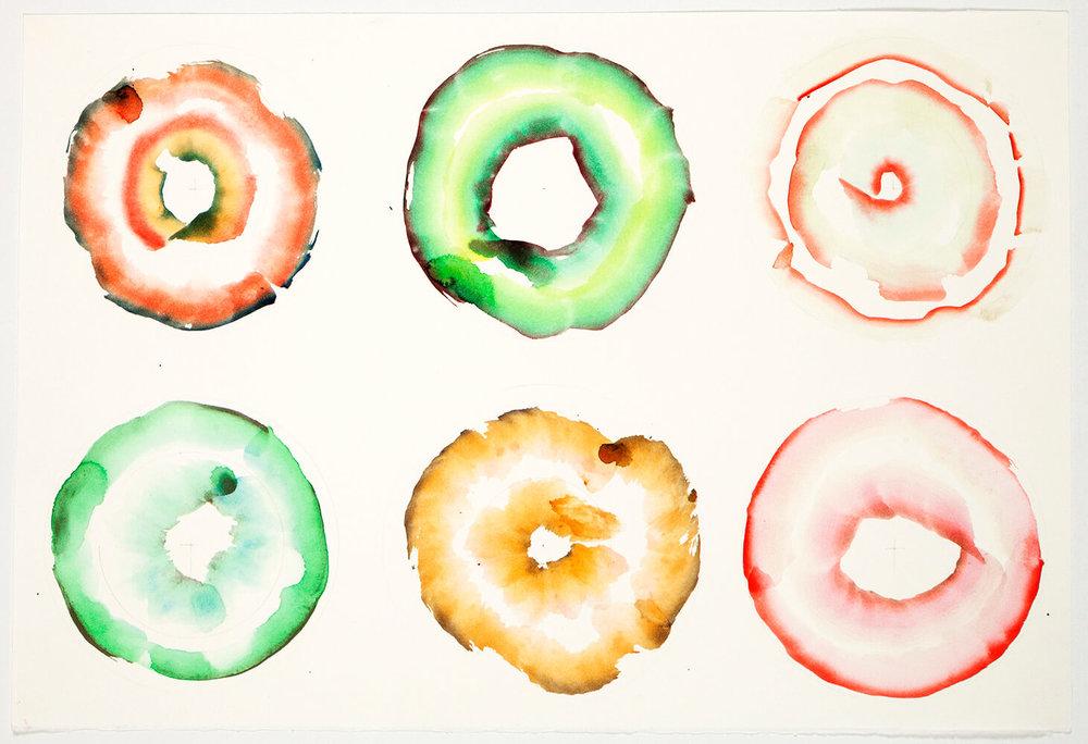 Doughnuts, 65 x 50 cm. 2012