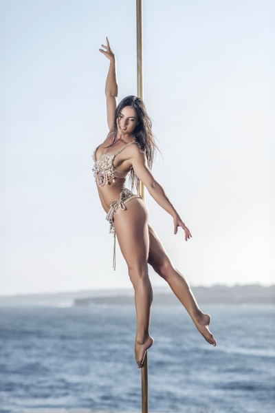 Michelle Shimmy - Co-founder, Pole Dance Academy