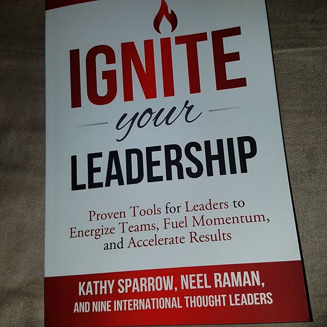 After doing the amazing interview with @sally_dooley, we are now reading her book as part of our book reviews.  Jemimah is half eay through and swooning already.  #ignite #leadership #femaleleadershio