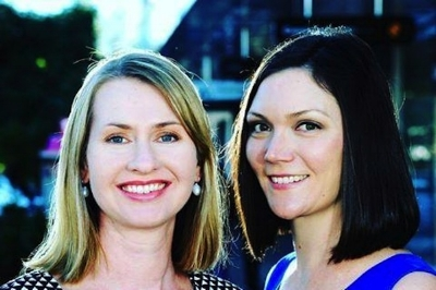 Jade Collins (left) and Alanna Bastin-Byrne - Founders, Femeconomy