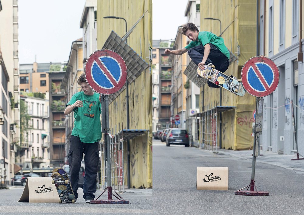 Skate Jump by Jacopo Carozzi and Graw Jump Ramps
