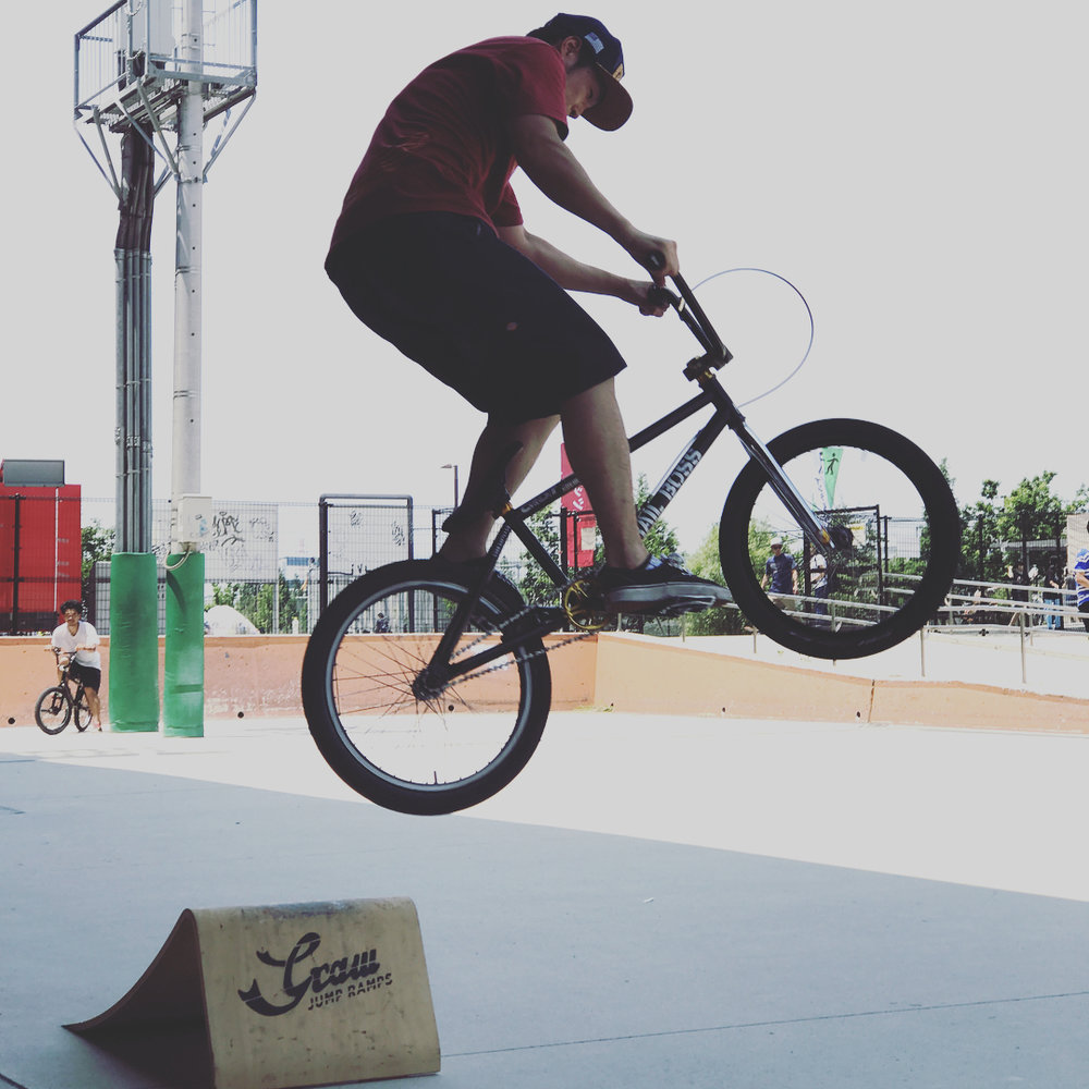 Graw Jump Ramps for BMX bikes