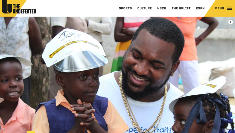 Marcell dareus talks about giving back and his emotional trip to haiti with ESPN's the undefeated.