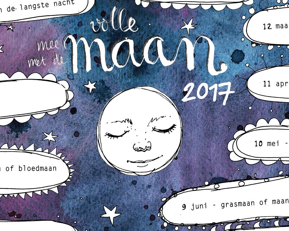 Lunadea's Maankalender2017