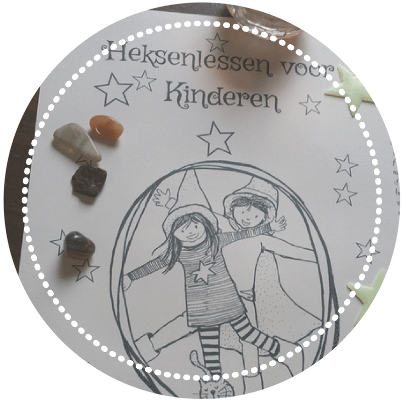 Leuke ideeën vind je in de  heksenlessen voor kinderen  van Lunadea