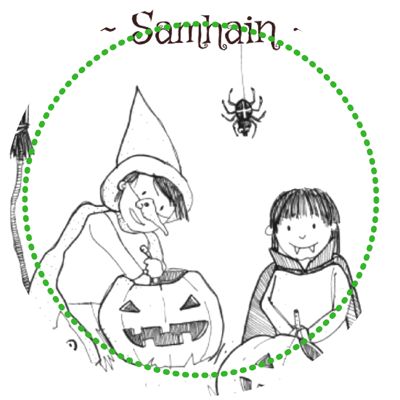 Heksenlessen voor kinderen - Samhain
