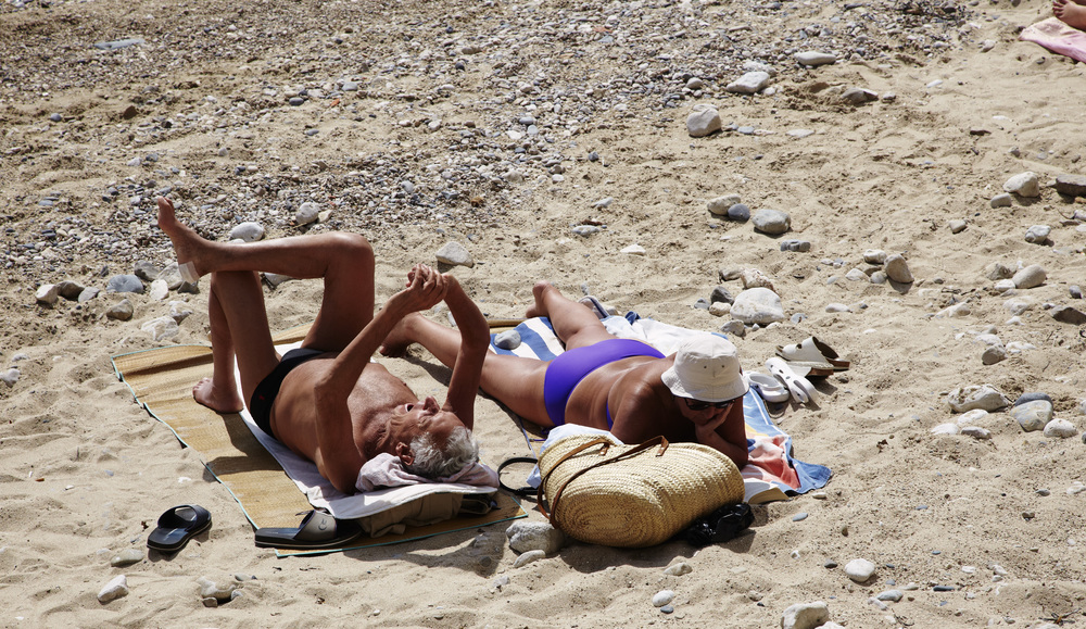 Is Tanorexia a full time occupation in the South of France?