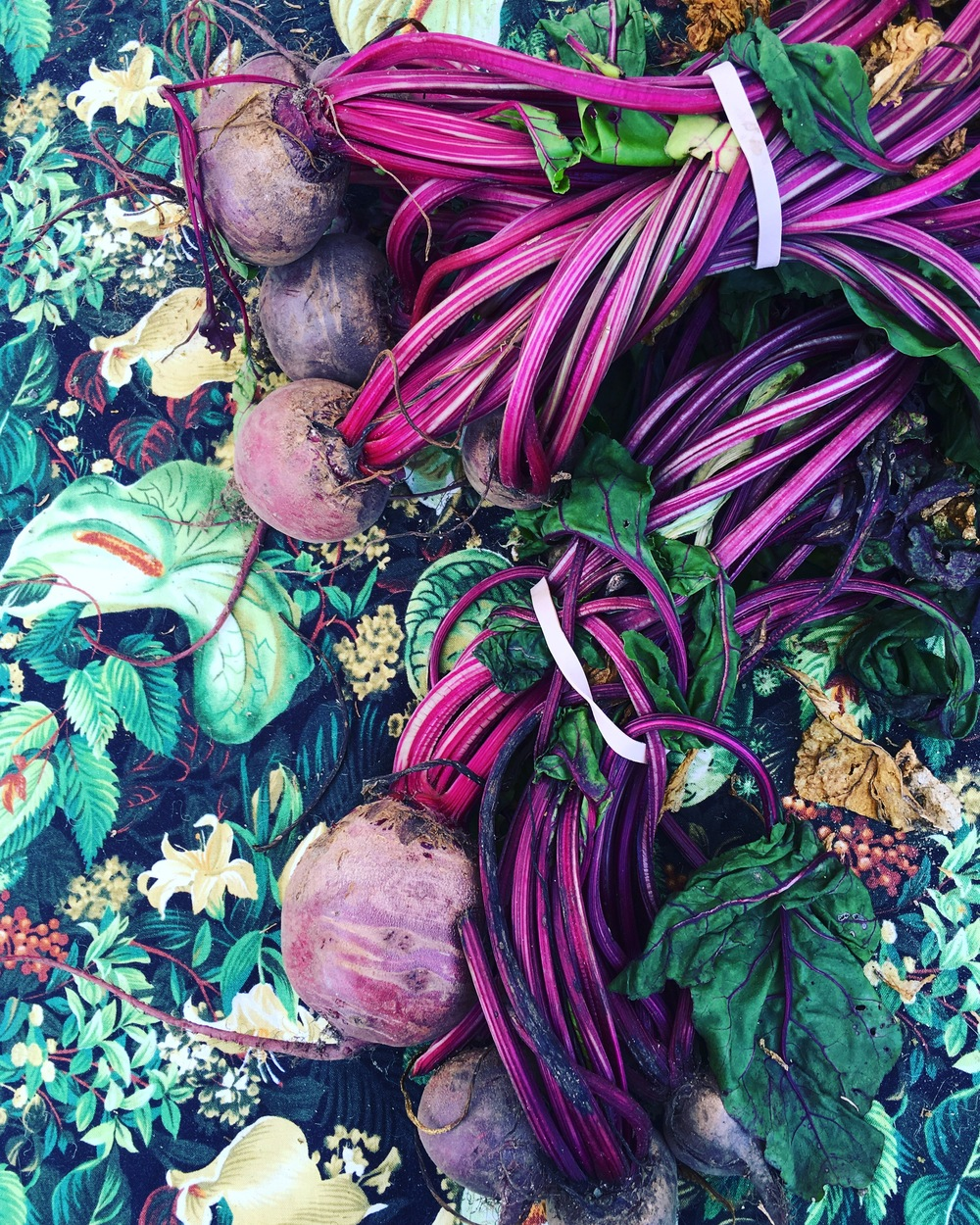 Hit that perfect beet!! I love nothing more..nothing! well a few things but food wise..they're all roasted and ready to go..dash of syrupy aged balsamic! Heaven!
