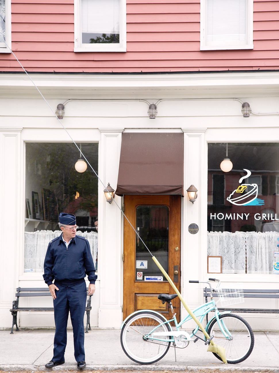 Ok- does it get better than the Hominy Grill for some quaint Southern charm? An old barber store and shotgun dwelling with a ghost or two floating around I'm sure.The best grits you'll ever eat!