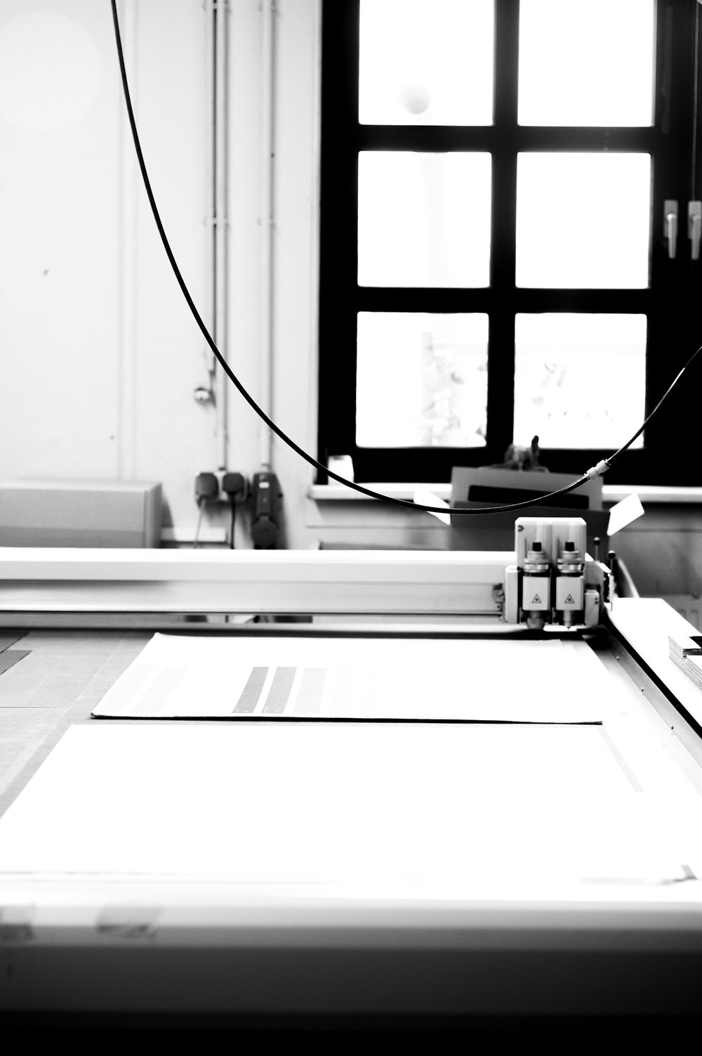Plotter einstellen.