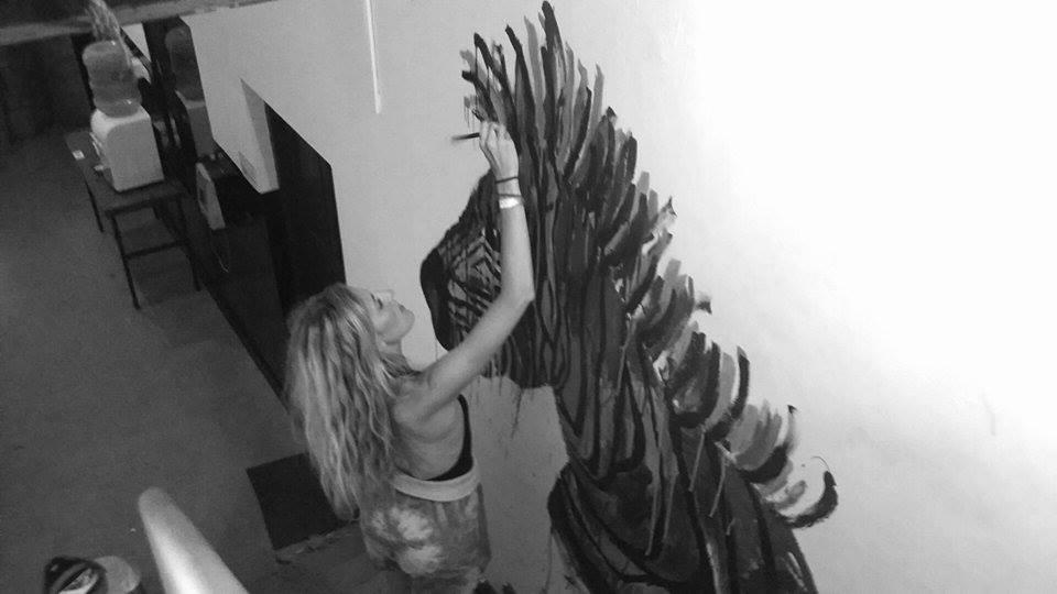 Zebra-Goa-Hostel-Prison-Mural-Sophie-Tea-Art