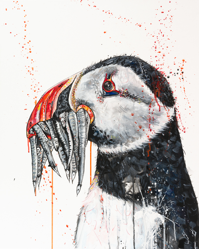 Puffin Sophie Tea Art