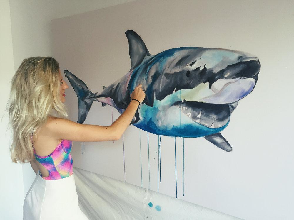 Oh hey Sharky!