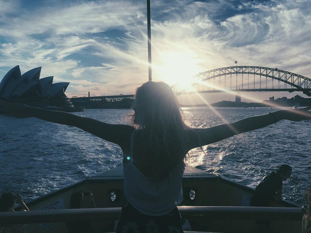 Bye, Sydney