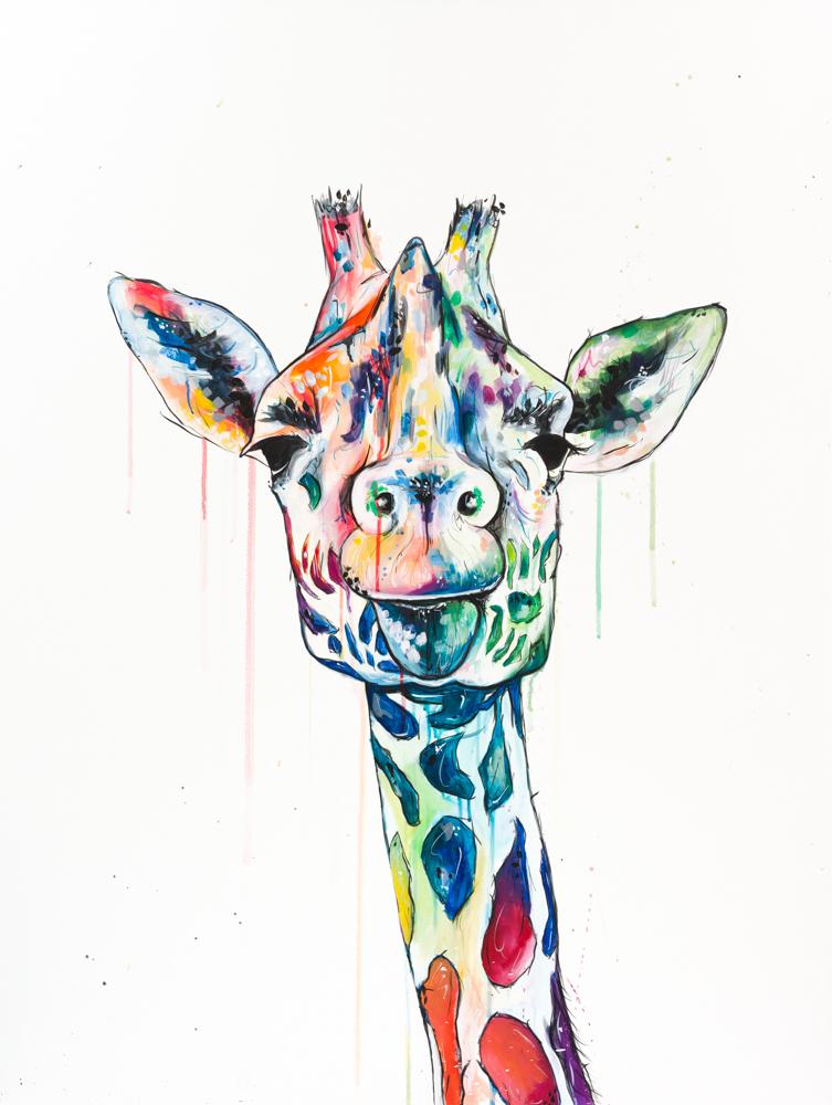 giraffe pride sophie tea art