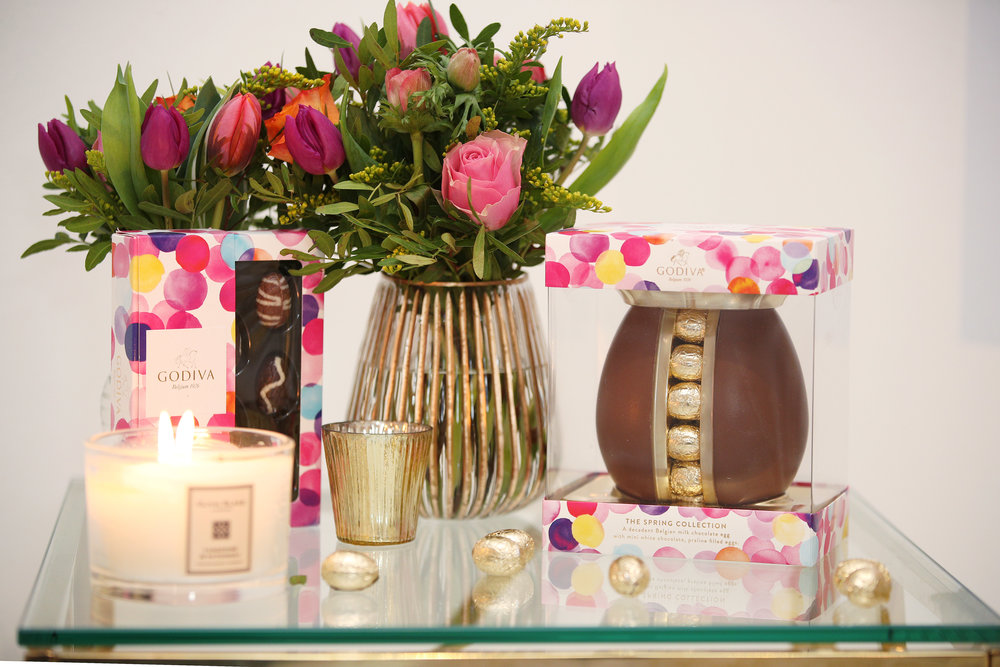 Godiva's Spring Collection - Available from Sainsbury's.