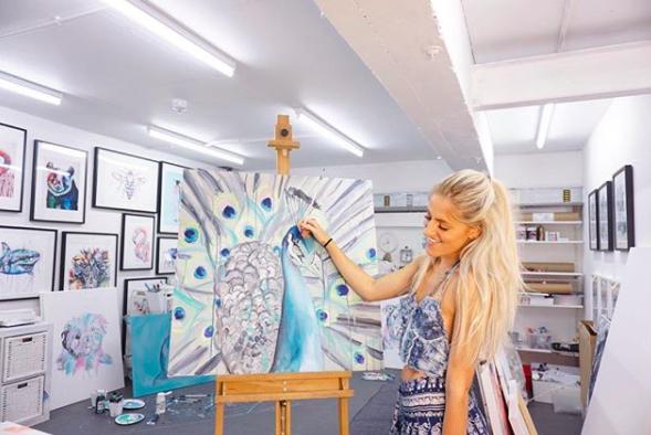 Sophie-Studio-Wimbledon-Artist