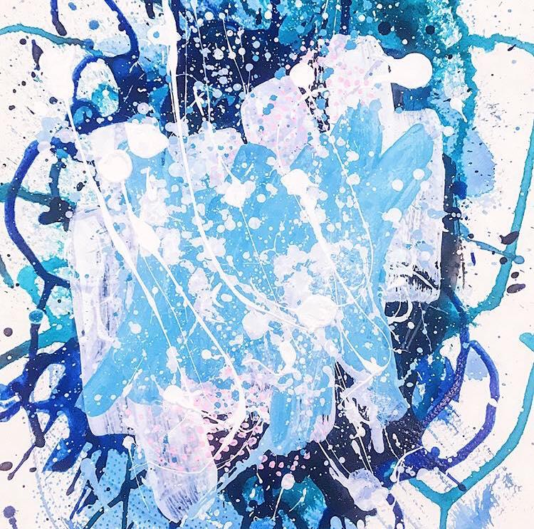 9/100 Neon Blue